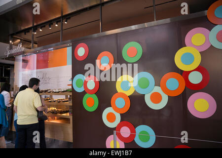 Sprinkles in Hudson Eats, a food court at Brookfield Place in Battery Park City, Manhattan. - Stock Photo