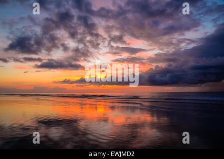 Sunrise, Hilton Head, South Carolina, USA - Stock Photo