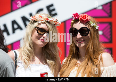 London,UK,27th June 2015,Pride in London Parad Credit: Keith Larby/Alamy Live News - Stock Photo