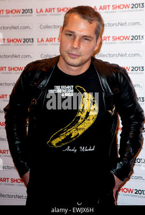 June 27, 2015 - Street artist SHEPARD FAIREY is wanted by police in Detroit after they say he tagged buildings across - Stock Photo