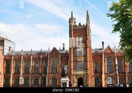 Queens University. Belfast. Northern Ireland. UK - Stock Photo