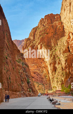 Gorges du Todra, Tinghir, Morocco, Africa - Stock Photo