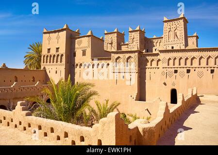 Kasbah Amerhidil, Sokura, Morocco, Africa - Stock Photo