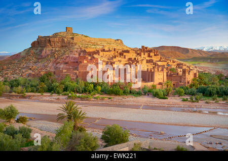 View of Ait Benhaddou Kasbah, Morocco, Africa - Stock Photo