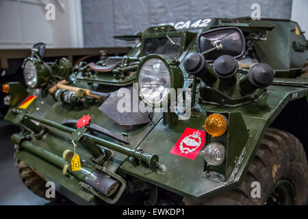 1968 Daimler Ferret Scout Car - Stock Photo