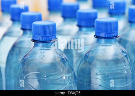 Plastic bottles - Stock Photo