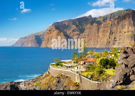 Los Gigantes Cliff, Tenerife, Canary Islands, Spain - Stock Photo