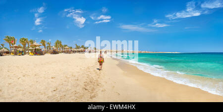 Marsa Alam, Abu Dabbab Bech, Red Sea, Egypt - Stock Photo