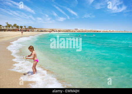 Abu Dabbab Beach, Marsa Alam, Red Sea, Egypt - Stock Photo