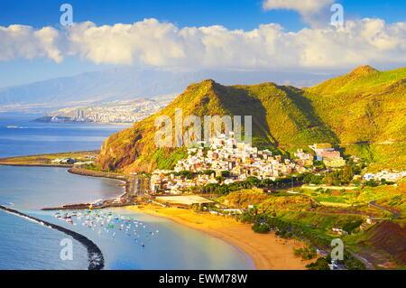 San Andres village, Tenerife, Canary Islands, Spain - Stock Photo