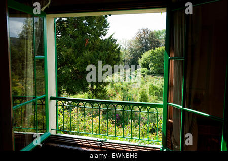 Claude Monet garden giverny departement eure france europe - Stock Photo