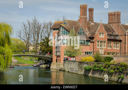 Jerwood Library, Trinity Hall, Cambridge, UK - Stock Photo