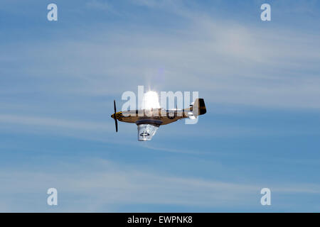 P-51D Mustang 'Kimberly Kaye' - Stock Photo