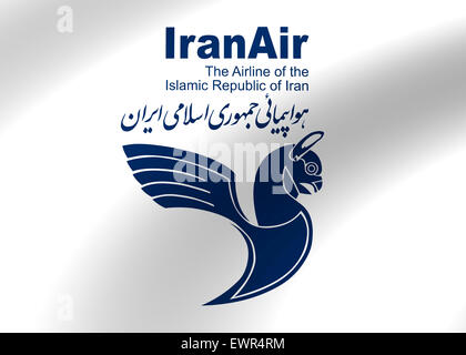 Iran Air Logo Symbol Icon Flag Emblem Sign Stock Photo 84716550 Alamy