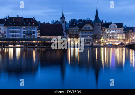 Architecture of Lucerne - Stock Photo