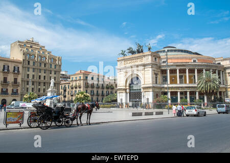 Palermo, Sicily - Stock Photo
