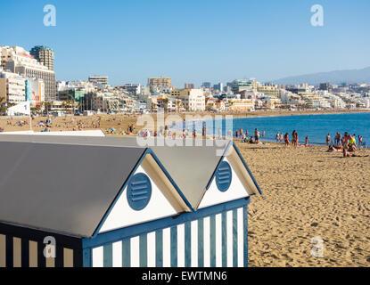 Playa de las canteras beach in front of hotel imperial - Capital de las palmas ...