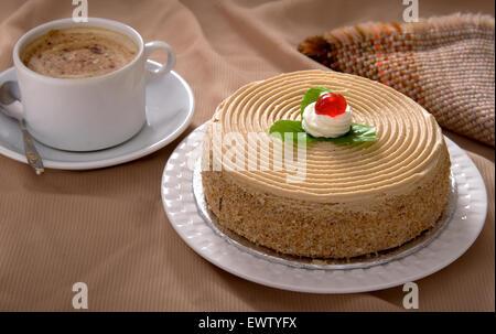 Coffee Cake - Stock Photo