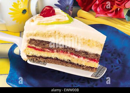 Cake Slice - Stock Photo