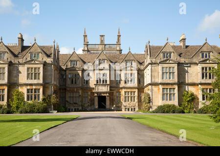 Corsham Court, Wiltshire, England, UK - Stock Photo
