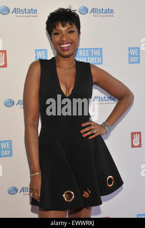 2015 We Day held at the Allstate Arena in Rosemont - Arrivals  Featuring: Jennifer Hudson Where: Chicago, Illinois, - Stock Photo