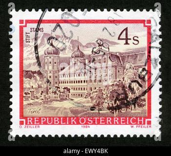 AUSTRIA - CIRCA 1984: A stamp printed in Austria - Stock Photo