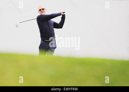 Bmw Pga Championship Pro Am At Wentworth Golf Club In Virginia Water Stock Photo Royalty Free