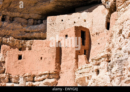 Montezuma Castle National Monument, Arizona, USA - Stock Photo