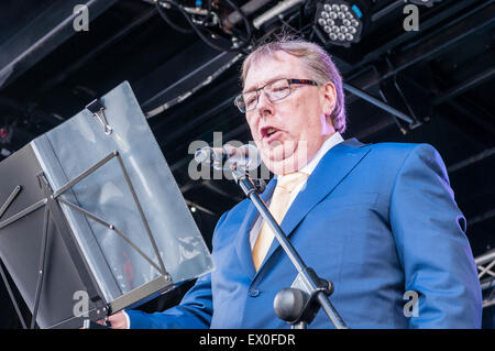 Belfast, Northern Ireland, UK. 02nd July, 2015. Dr Gerard O'Hare CBE, DL, board member of the Belfast Harbour Commissioners, - Stock Photo