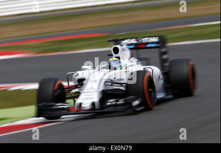 Silverstone, Northants, UK. 03rd July, 2015. Motorsports: FIA Formula One World Championship 2015, Grand Prix of - Stock Photo