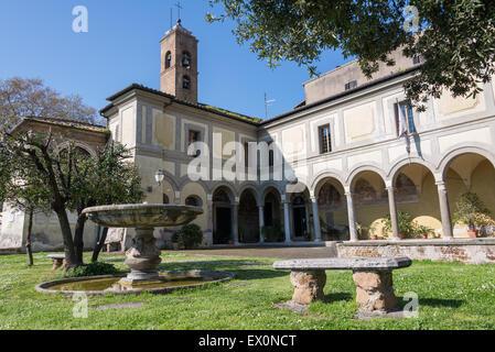 Chiesa di Sant'Onofrio al Gianicolo - Stock Photo