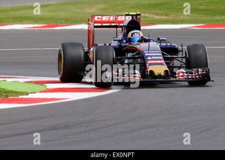Silverstone, Northants, UK. 03rd July, 2015. Formula 1 British Grand Prix practice. Carlos Sainz Jr, Scuderia Toro - Stock Photo
