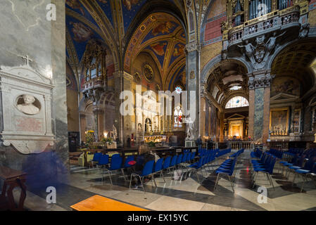 Santa Maria sopra Minerva church - Stock Photo