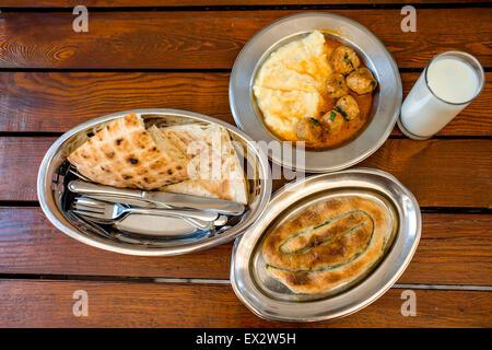 Traditional balkan's food - Stock Photo