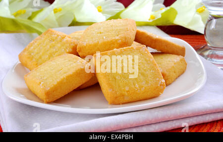 Plain Shortbread - Stock Photo
