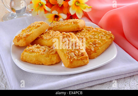 Peanut Cookies - Stock Photo