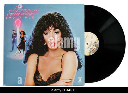 Donna Summer Bad Girls album - Stock Photo