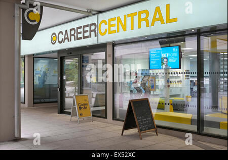 career central office, uea, norwich, norfolk, england - Stock Photo