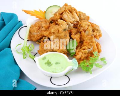 Delicious Pakora - Stock Photo