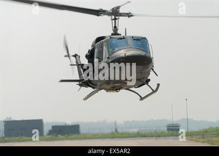 Italian Army, Agusta-Bell AB-412 helicopter - Stock Photo