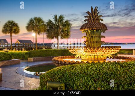 Charleston, South Carolina, USA at Waterfront Park. - Stock Photo