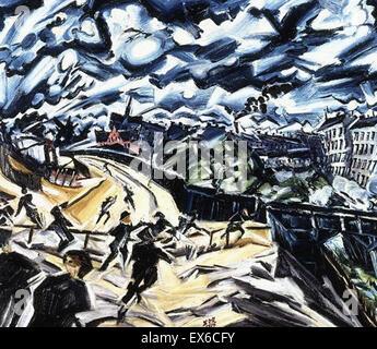 Ludwig Meidner  Apocalyptic Landscape - Stock Photo