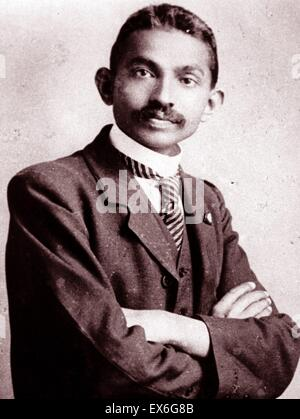 a biography of mahatma gandhi the leader of the indian independence movement in british ruled india The legend of mahatma gandhi has it that he returned to wore down the british government and led to indian independence quit india movement of.