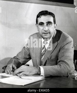 Edward Teller (1908 – 2003) Hungarian-born American theoretical physicist; known colloquially as 'the father of - Stock Photo