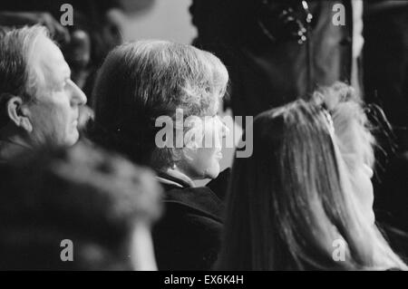 Photograph of First Lady Rosalynn Carter at President Carter's press conference. Photographed by Warren K. Leffler. - Stock Photo