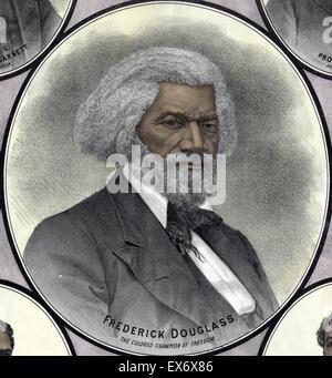 Frederick Douglass (born Frederick Augustus Washington Bailey, c. February 1818 – February 20, 1895) was an African - Stock Photo