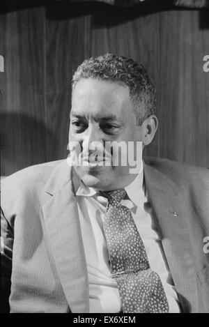 Thurgood Marshall (1908-1993) Associate Justice of the United Nations Supreme Court, serving from October 1967 until - Stock Photo