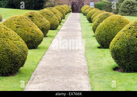 Part of the garden at Berrington Hall near Leominster, Herefordshire, UK. - Stock Photo