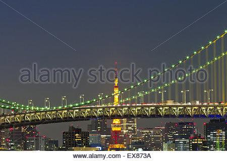 japan tokyo skyscrapers bridge - photo #35