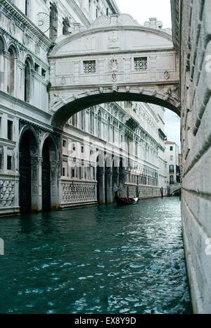 Bridge of Sighs, Venice, Italy - Stock Photo